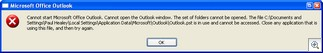 Outlook2007Error